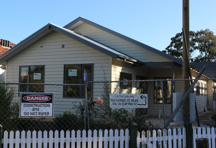 Clifton Hill, Vic exterior house painting project in progress